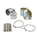 Dryer Vent Elbows/Collars/Clamps