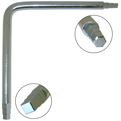 6-Step Down Angle Seat Wrench