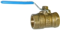 3/4 IPS Brass Ball Valve