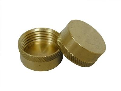 3 4 fht brass hose cap